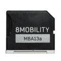 "8MOBILITYEAD-103ASV iSlice Air 13""/MacBook Air 13インチ専用 microSDカードアダプター シルバー"