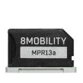 "8MOBILITYEAD-303ASV iSlice Pro 13""/MacBook Pro 13インチ専用 microSDカードアダプター シルバー"