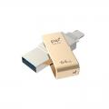 PQIICMINVGD-64 iConnect mini ライトニング/USB3.0メモリ 64G ゴールド