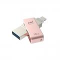 PQIICMINVPK-16 iConnect mini ライトニング/USB3.0メモリ 16G ローズ