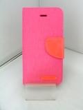 LibraLBR-SECD2PK iPhoneSEキャンバス手帳風カバー(ピンク)