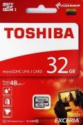 TOSHIBATHN-M301-0320-4 32GB microSDHC Class10 UHS-I R-48M