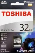 TOSHIBATHN-N401-0320-4 32GB SDHC Class10 UHS-I R-95M/W-75M