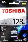 TOSHIBATHN-N401-1280-4 128GB SDXC Class10 UHS-I R-95M/W-75M