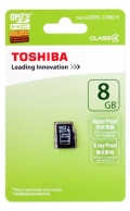 TOSHIBASD-C008GR74N000A microSDHC Card 8GB Class4