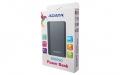 A-DATAAA10050-5V-CTI 10050mAhモバイルバッテリー 入力2A 出力2.1A+1.0A 2ポート チタングレー