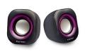 KellnerKE-SPKB USB2.0 スピーカー 黒×紫