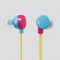 ELECOMEHP-C3550PBU ステレオヘッドホン(耳栓タイプ)