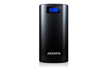A-DATAAP20000D-DGT-5V-CBK 20000mAhモバイルバッテリー 入力2A 出力2.1A 2ポート ブラック