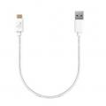 AREASD-U2AMCM15-WHM TypeCケーブル Toughest Wire TypeC-A-15cm USB2.0
