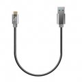 AREASD-U31AMCM15-GY TypeCケーブル Toughest Wire TypeC-A-15cm  USB3.1 Gen1(5Gbps)