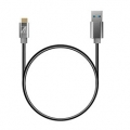 AREASD-U31AMCM50-GY TypeCケーブル Toughest Wire TypeC-A-50cm  USB3.1 Gen1(5Gbps)