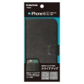 多摩電子工業TPS06K iPhone 6/6s用 スライド手帳型ケース ブラック