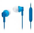 PHILIPSSHE-3805BL インイヤーヘッドフォン(マイク付き)ブルー