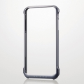 ELECOMPM-A14LALBG1BK iPhone6 Plus用アルミバンパー