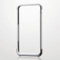 ELECOMPM-A14LALBG1SV iPhone6 Plus用アルミバンパー
