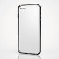 ELECOMPM-A15LHVCBK iPhone6s(6)Plus用ハイブリッドケース