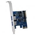 AOTECHAOK-USB3-2PG2 USB3.0増設ボード 外部USB3.0x2 PCI Express