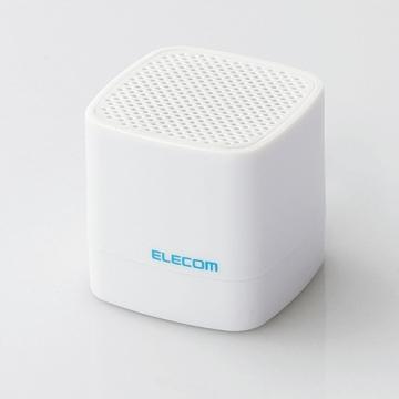 ELECOMLBT-SPCB01AVWH Compact Wireless Speaker ホワイト