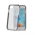 CellyHEXAGON800BK HEXAGON COVER IP 7 BLACK iPhone6/6s/7対応