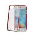 CellyHEXAGON800RD HEXAGON COVER IP 7 RED iPhone6/6s/7対応