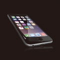 ELECOMPM-A15LFLPGGOBK iPhone6s(6)Plus用液晶保護ガラス/フレーム付