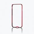 ELECOMPM-A16MALBURD iPhone 7用アルミバンパー/薄型