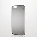 ELECOMPM-A15DBBK iPhone 6s / 6用ウルトラスリムシェルカバー ブラック