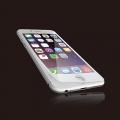 ELECOMPM-A15LFLPGGOWH iPhone6s(6)Plus用液晶保護ガラス/フレーム付 ホワイト