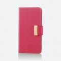 ELECOMPM-A16LPLFBMPN iPhone 7 Plus用ソフトレザーカバー/女子向け/磁石付スナップ ピンク