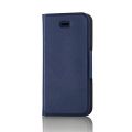 ELECOMPM-A16SPLFUMBU iPhone SE/5/5s用レザーカバー/薄型(磁石付) ブルー